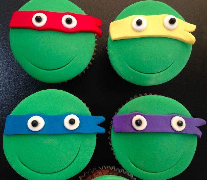 Cupcake tortues ninja