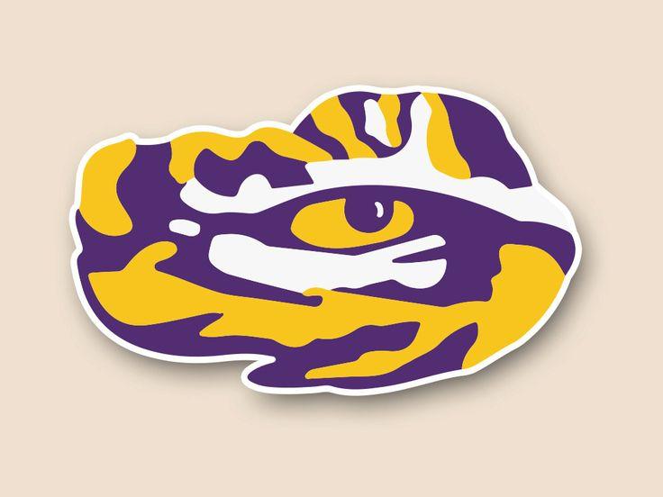 126 best lsu and saints logos images on pinterest lsu tigers rh pinterest com