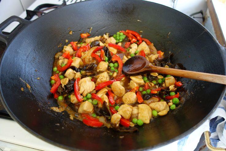 čína z kuřecího masa