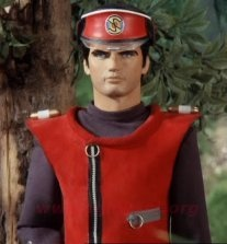Captain Scarlet - Must be the handsomest puppet ever!