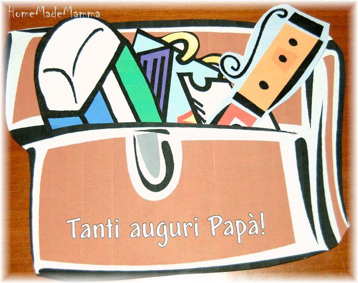 Un biglietto valigetta per la Festa del Papà