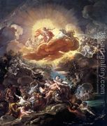 The Birth of the Sun and the Triumph of Bacchus 1762  by Corrado Giaquinto