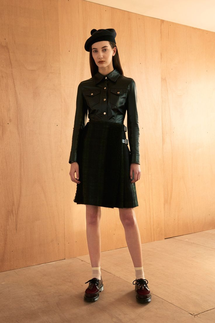 Le Kilt Fall 2016 Ready-to-Wear Fashion Show   http://www.theclosetfeminist.ca/  http://www.vogue.com/fashion-shows/fall-2016-ready-to-wear/le-kilt/slideshow/collection#18