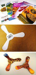 DIY Boomerang VBS craft