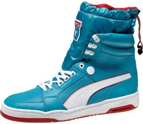 Puma My-68 High Top Men's Shoes, Blue/White #PUMA #FashionSneakers