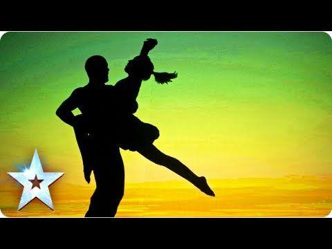 ▶ Attraction's semi-final shadow theatre performance | Semi-Final 5 | Britain's Got Talent 2013 - YouTube