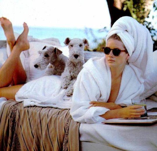 Ralph Lauren S/S 1989 Photographer: Bruce Weber Model: Isabelle Townsend