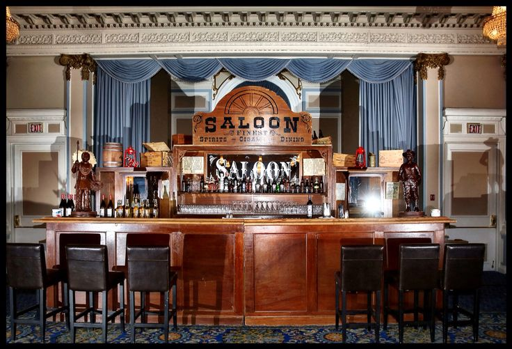 Fancy Saloon movable/usable bar for your event. Our event centre or your place of choice.