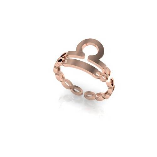 Terazi Burç Yüzük - Libra Zodiac Ring