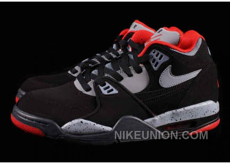 Buy Nike Air Flight 89 Authentic Black Dark Magnet Grey University Red For  Sale from Reliable Nike Air Flight 89 Authentic Black Dark Magnet Grey  University ...