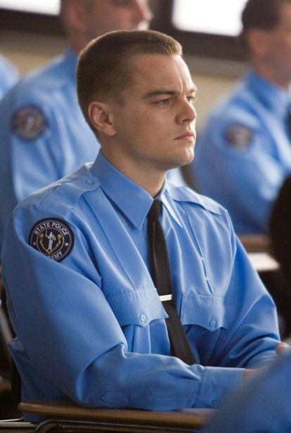 """The Departed"" Leonardo DiCaprio Love a man in a uniform :)"