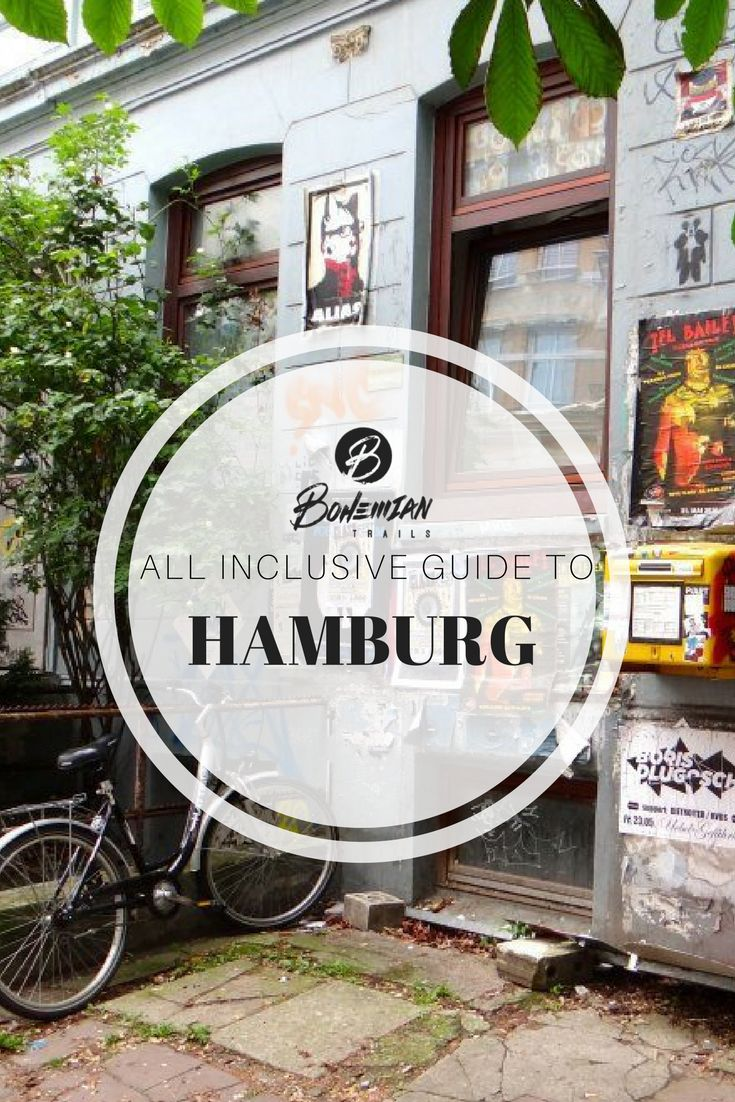 This neighborhood guide from @bohemiantrails of Hamburg, Germany will have you exploring like a local. Learn about all the best places to eat, things to do, and places to explore. Click the image for more information. | bohemiantrails.com