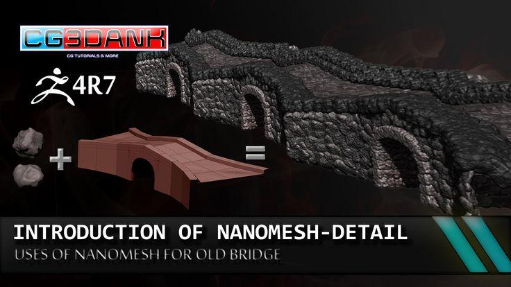 ZBRUSH 4R7 TUTORIAL_ USE OF NANOMESH(DETAIL)