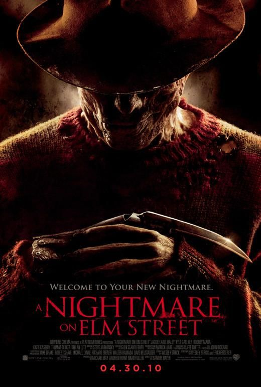 A Nightmare On Elm Street 27x40 Movie Poster 2010 With Images