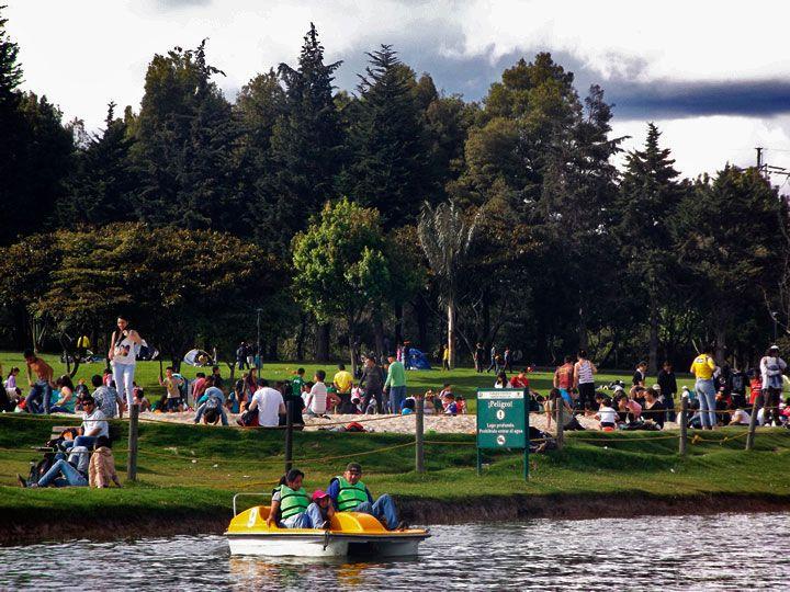 Parque Simón Bolívar, el pulmón verde de Bogotá