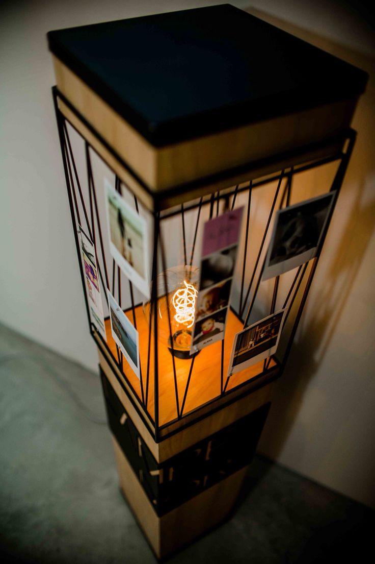"""/ LAMPE D'OR // Bonsoir à tous !!!  Je vous présente ma nouvelle collection """"Lampe d'or"""", métal, bois ... Ht 1,20m Réservation possible. DESIGNER : Nicolas Debray SHOOTING : Cathy marion photographe"""