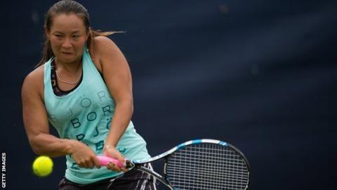 Tara Moore loses Nottingham Open quarter-final to Saisai Zheng