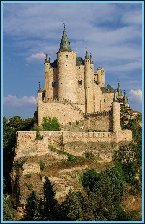 Alcázar of Segovia, Spain
