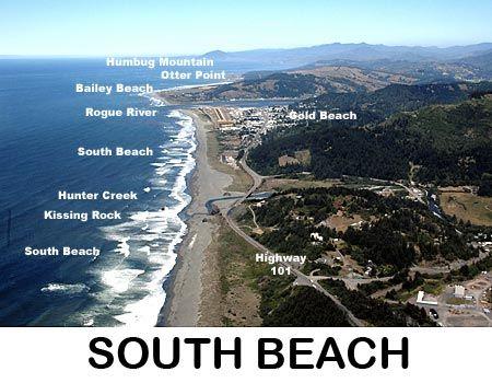 South Beach in Gold Beach, Oregon