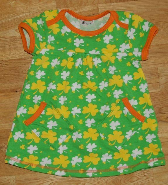 Tunika/kjole i retro farger