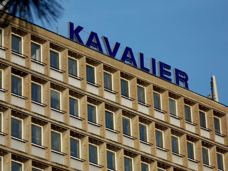 The main building local glassworks Kavalierglass :)