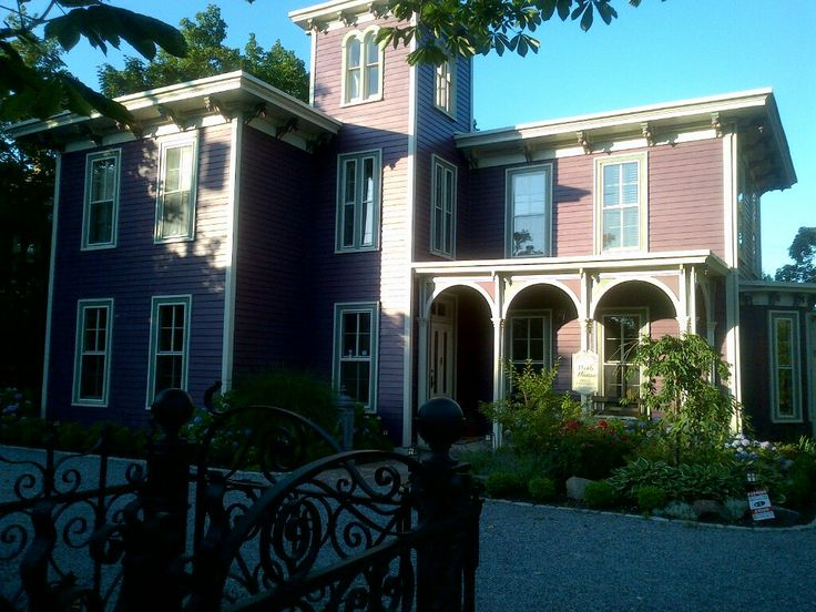 The Wells House B&B c1859 Main St. Greenport Village L.I.