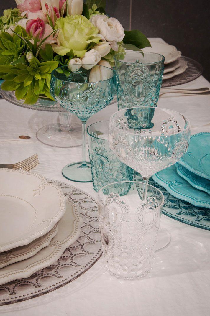 baci milano - Acrylic dinner ware for picnics and camping