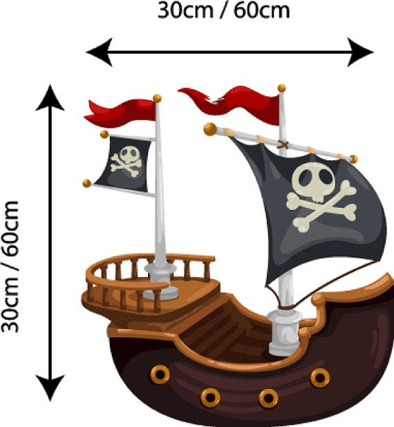 Unique Cartoon Pirate Ship Ideas On Pinterest Kristi Coleman - Decals for boat motorsoutboarddecalscom s of decals in stock