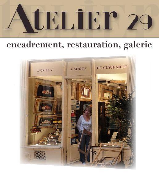 Atelier 29 - Galerie d'art et encadrement