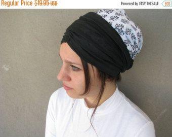 Menta la cabeza cubierta tichel pañuelo de cabeza por yaelisbloom