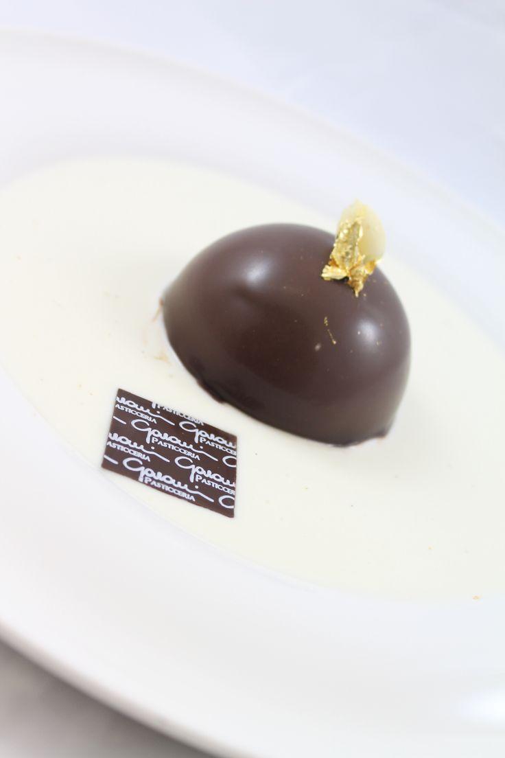 Mousse cioccolato e cremoso al mango