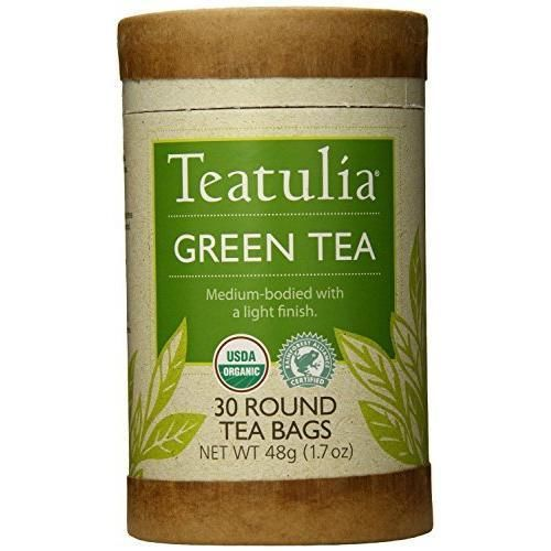 Teatulia Organic Green Tea Round Teabags 30 Count (Pack of 6) - Pack Of 6 V991-SPU-1525351