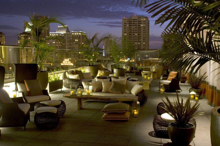 11 besten rooftops bilder auf pinterest dachterrassen for Roosevelt hotel san diego