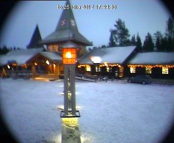 Webcam da Aldeia do Papai Noel na Lapônia, na Finlândia