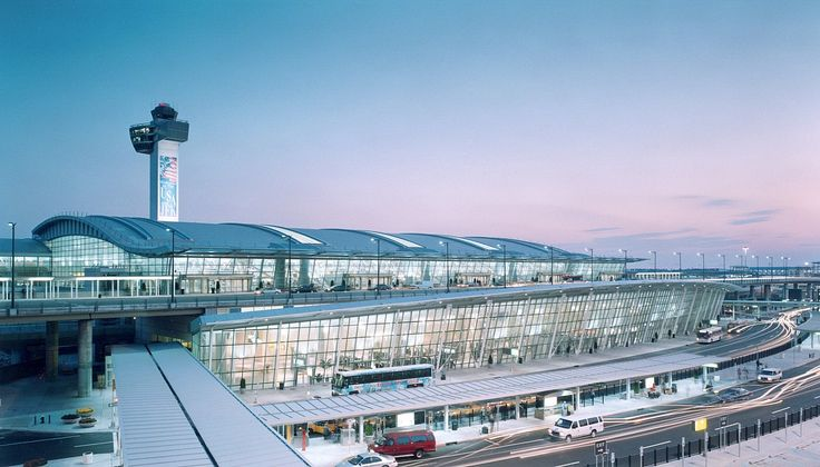 SOM, John F. Kennedy International Airport nternational Arrivals Building, Terminal 4 (architecture)