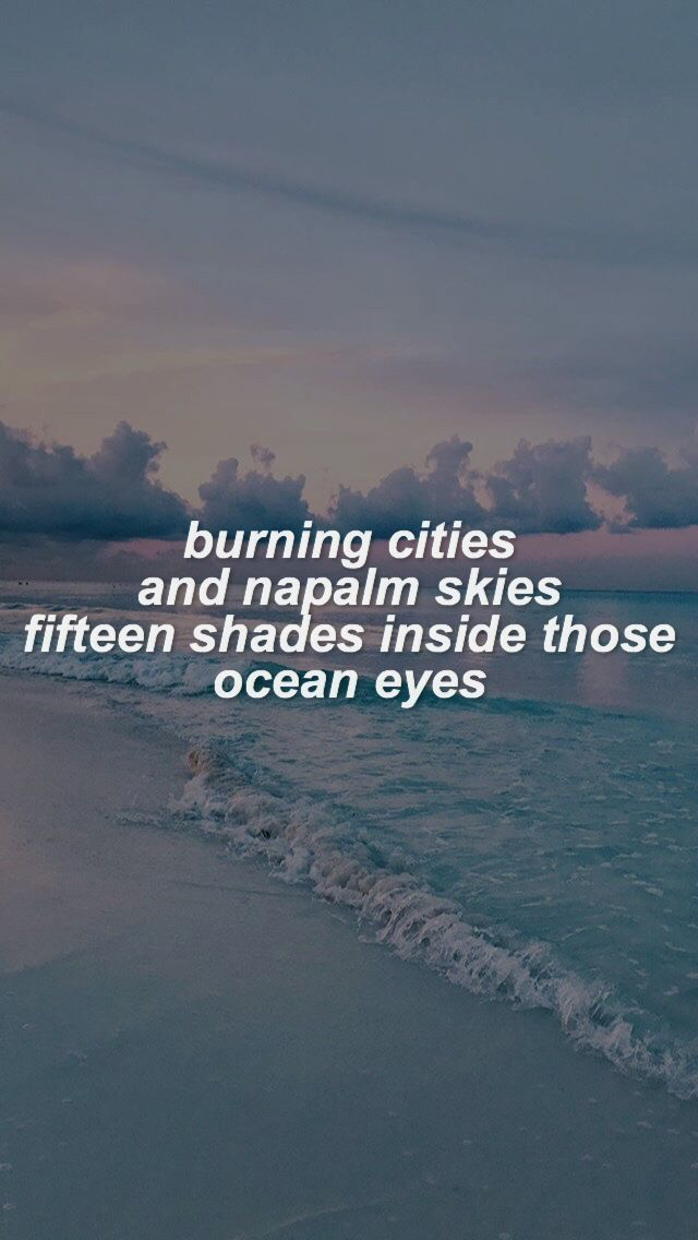 Ocean Eyes Billie Eilish Wallpaper Billieeilishaesthetic In