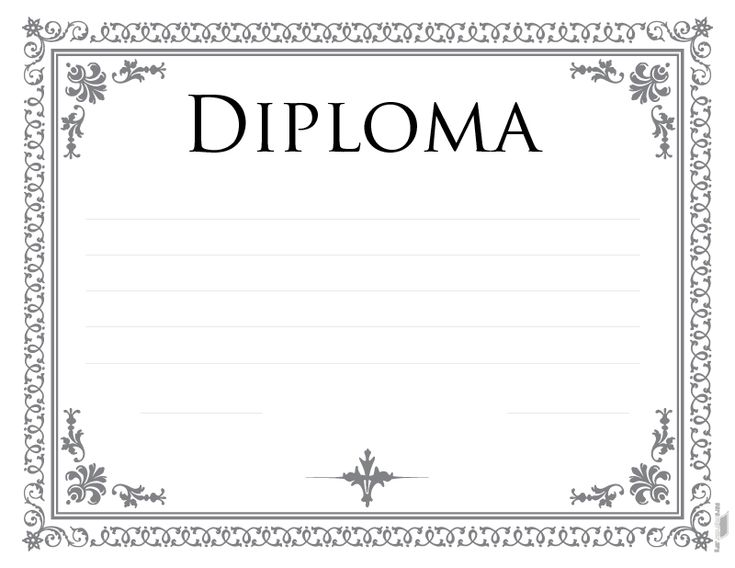 Ms de 25 ideas increbles sobre Diplomas para imprimir en