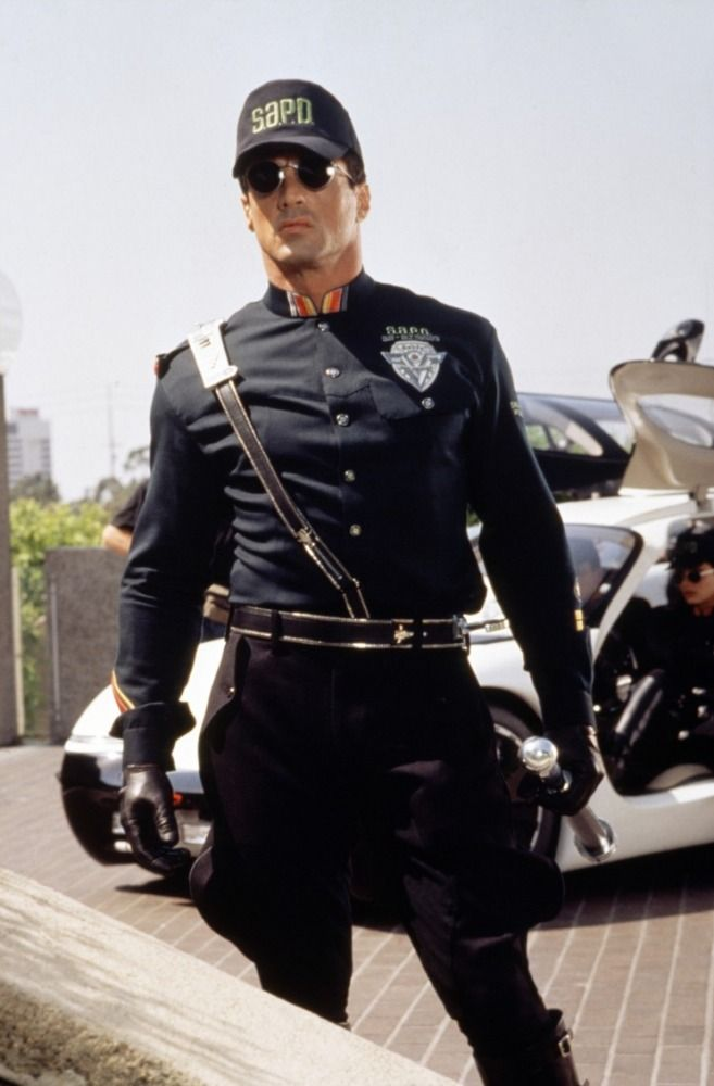 Sylvester Stallone in Demolition Man