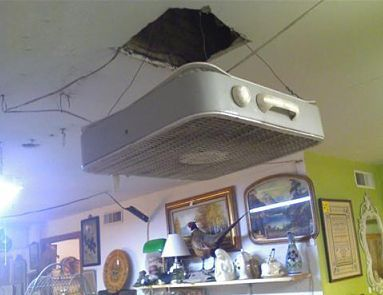 Redneck Ceiling Fan