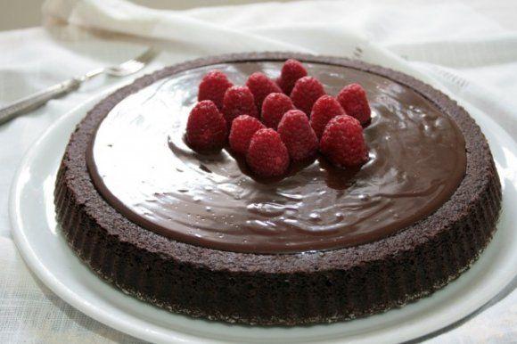 Torta californiana al cioccolato