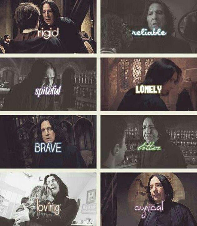 severus snape and harry potter relationship status
