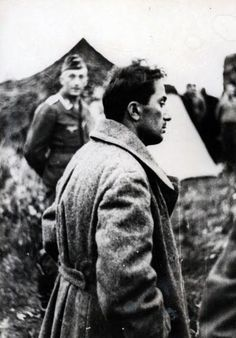 Stalin's son Yakov Dzhugashvili captured by the Germans, 1941 (4)