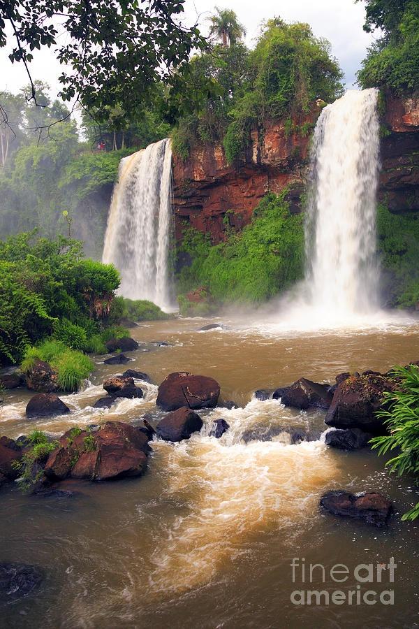 ✯ Two Sisters Falls - Iguazu, Misiones, Argentina