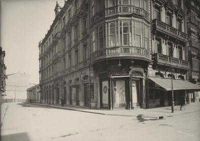 VIVIENDAS DEMOLIDAS 1880-1902. CALLE URIA. OVIEDO