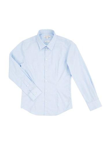 REVIEW-FOR-TEENS Hemd aus bügelleichter Baumwolle in Blau / Türkis online kaufen (9560822)   P&C Online Shop