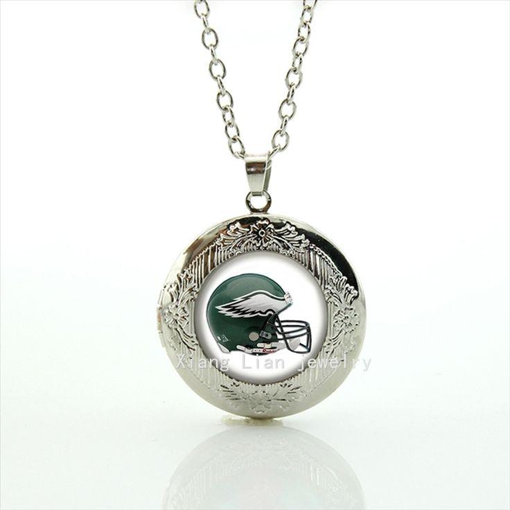 Новые модные стильные мужские ювелирные изделия медальон ожерелье Филадельфия Иглз команда Новые mix 32 команды НФЛ аксессуары для мужчин NF150