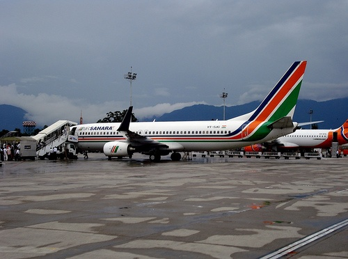 Various taxies and buses are available to help passengers from the airport to the selected destination. Car agencies are also located at the airport in order to provide car hire to passengers.  http://airportnepal.com/