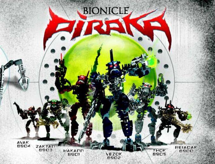 Bionicle Piraka