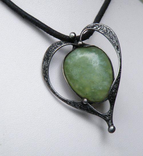 Elfské srdce...(serpentin)