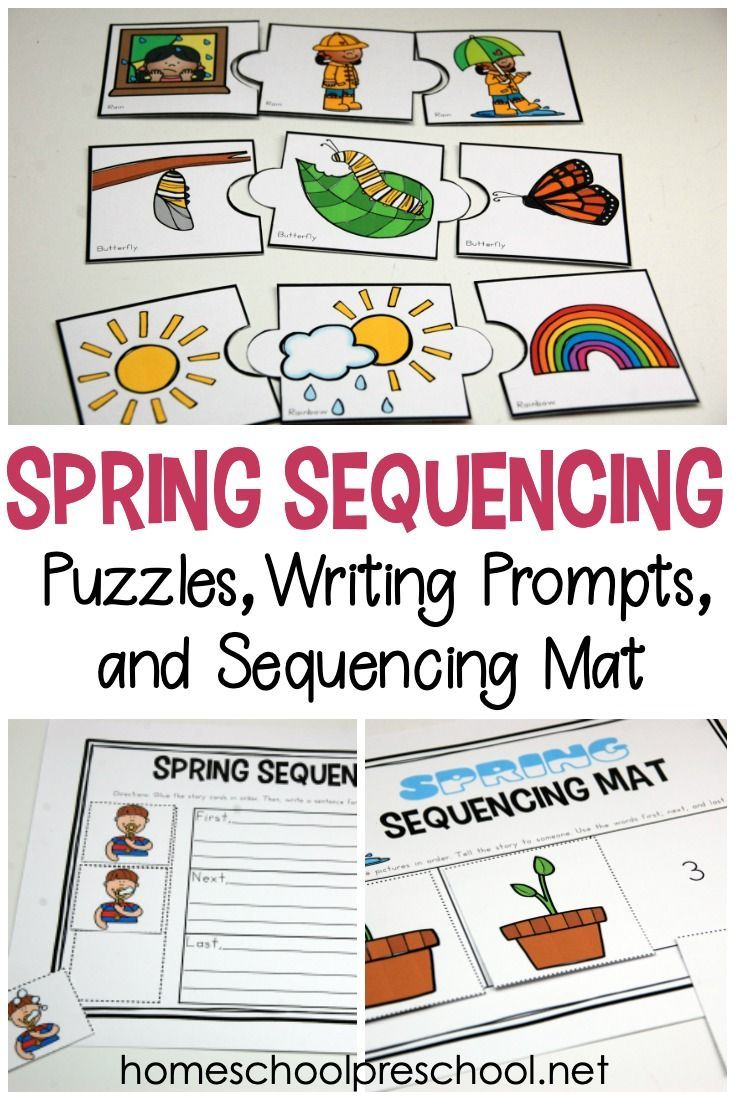 Free Printable Spring Sequence Cards For Preschoolers Sequencing Activities Preschool Sequencing Activities Kindergarten Sequencing Cards [ 1100 x 735 Pixel ]